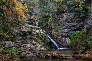 Highlight for Album: Brasstown Falls