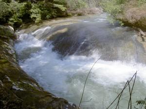 The creek above Eagle Falls