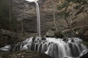Pretty cascades just below the main drop