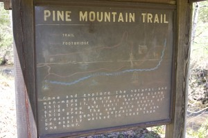 An interpretive loop trail