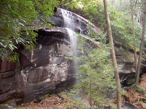Highlight for Album: Slick Rock Falls