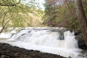 Big Falls on Cedar Creek