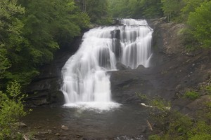 Highlight for Album: Bald River Falls