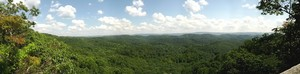 Panorama from overlook (cell phone pic)